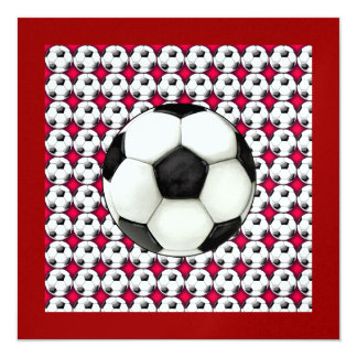 Soccer Invitation  - SRF