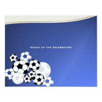 Soccer Invitational Bar Mitzvah Card