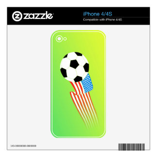 Soccer iPhone 4S Decals
