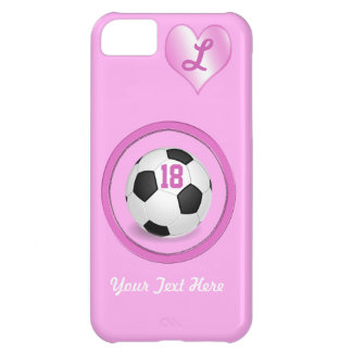 Soccer iPhone 5C Cases Add  Jersey NUMBER and TEXT