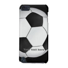 Soccer Ipod Touch Case at Zazzle