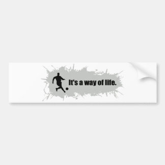 Soccer is a Way of Life Bumper Sticker