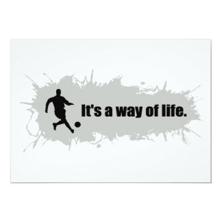 Soccer is a Way of Life Card