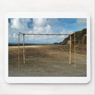Soccer is everywhere mouse pad