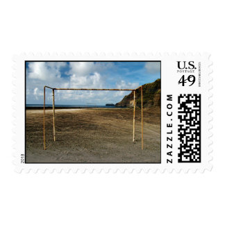 Soccer is everywhere stamp