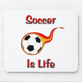 Soccer Is Life Mousepad