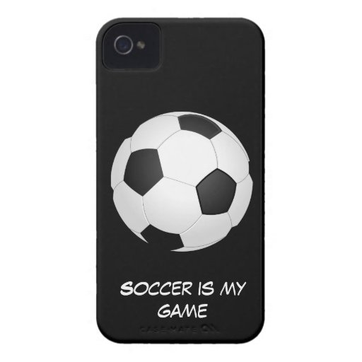 Soccer is my Game iPhone 4 Cases