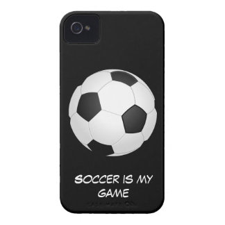 Soccer is my Game iPhone 4 Case-Mate Case