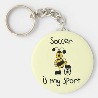 Soccer Is My Sport T-shirts and Gifts Key Chains