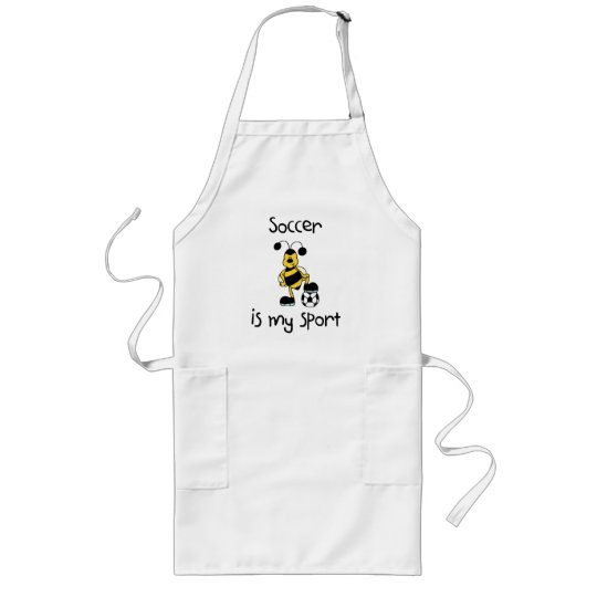 Soccer Is My Sport T-shirts and Gifts Long Apron