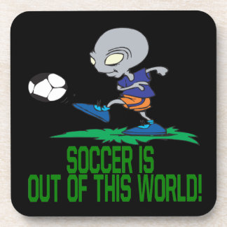Soccer Is Out Of This World Beverage Coaster
