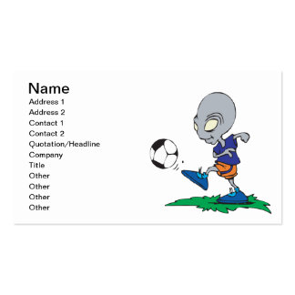 Soccer Is Out Of This World Double-Sided Standard Business Cards (Pack Of 100)