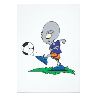 Soccer Is Out Of This World Card