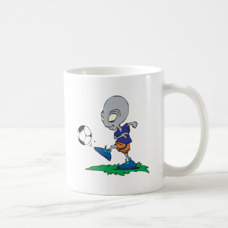 Soccer Is Out Of This World Classic White Coffee Mug