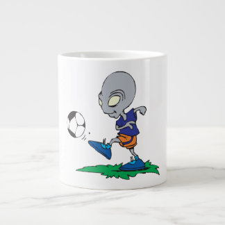 Soccer Is Out Of This World Large Coffee Mug