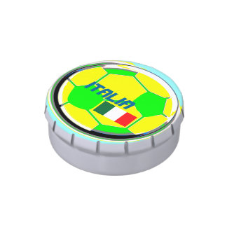 Soccer Italia Candy Tins