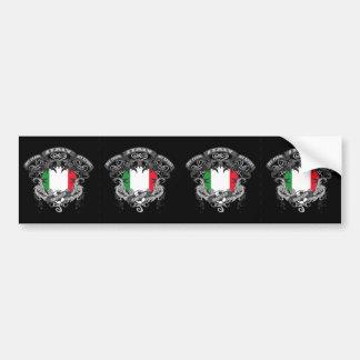 Soccer Italy Car Bumper Sticker