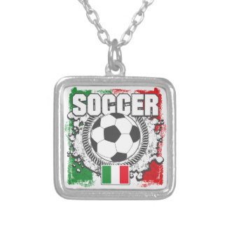 Soccer Italy Personalized Necklace