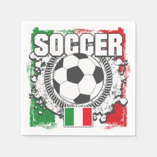 Soccer Italy Paper Napkin
