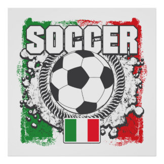 Soccer Italy Poster