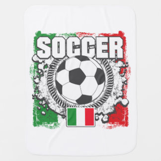 Soccer Italy Receiving Blanket