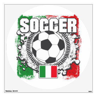 Soccer Italy Wall Decal