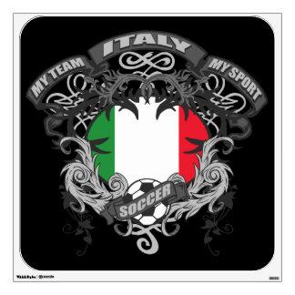 Soccer Italy Wall Sticker