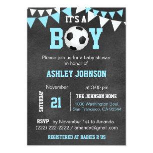Soccer Invitations Announcements Zazzle