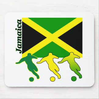 Soccer Jamaica Mouse Pads