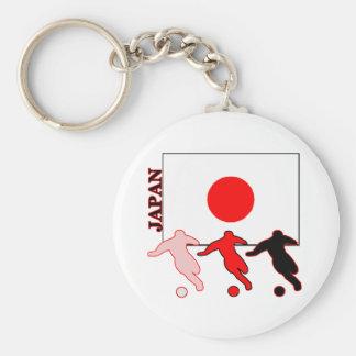 Soccer Japan Key Chains