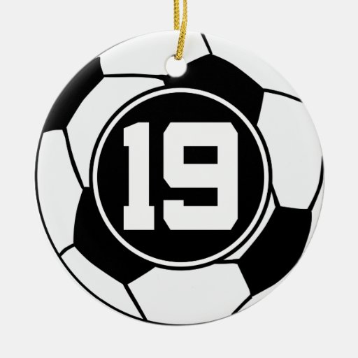 Soccer Jersey Number  Gift Idea