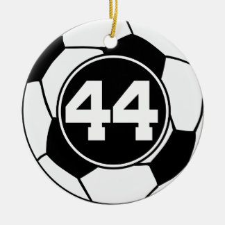 Soccer Jersey Number 44 Gift Idea Ornaments