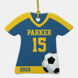 Soccer Jersey Personalized Ornament
