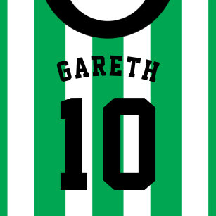 Football jersey invitations announcements zazzle soccer jersey themed party invites template green stopboris Gallery