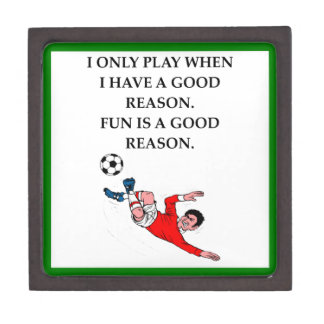 soccer jewelry box