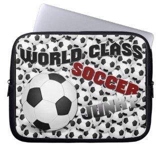 Soccer Junky Laptop Sleeve