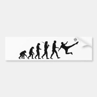 Soccer Kick Bumper Sticker