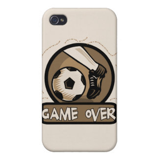 Soccer Kick Game Over and Gifts iPhone 4/4S Case