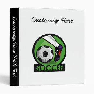 Soccer Kick T-shirts and Gifts Binder