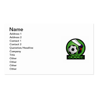 Soccer Kick T-shirts and Gifts Business Card