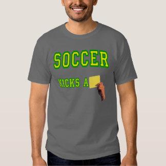 Soccer Kicks A Yellow Card Tee Shirts