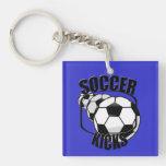 Soccer Kicks Keychain