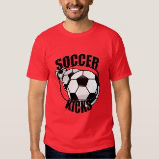 Soccer Kicks Red T-shirt