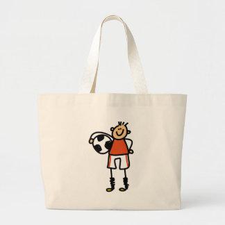 Soccer Kid Tote Bags