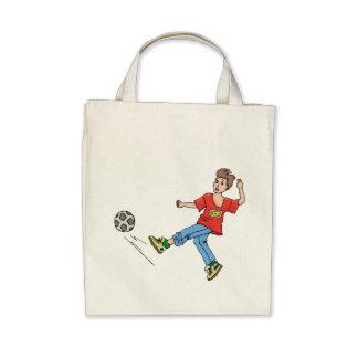 Soccer Kid Canvas Bag