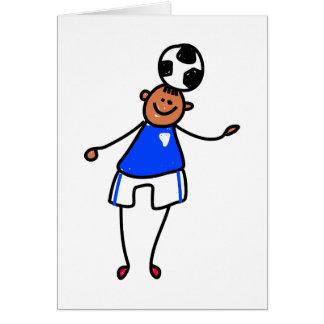 Soccer Kid Card