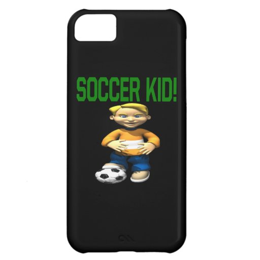 Soccer Kid iPhone 5C Covers
