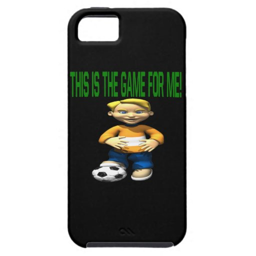Soccer Kid iPhone 5 Cases