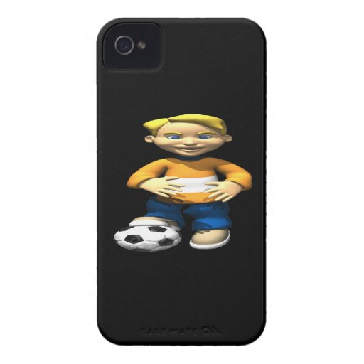 Soccer Kid iPhone 4 Case