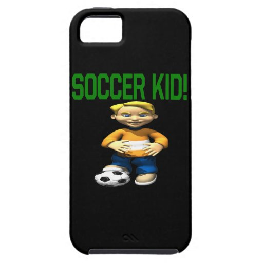 Soccer Kid iPhone 5 Cover